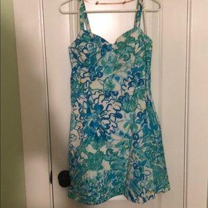 VGUC Lilly Pulitzer cotton dress w/ POCKETS Sz 14